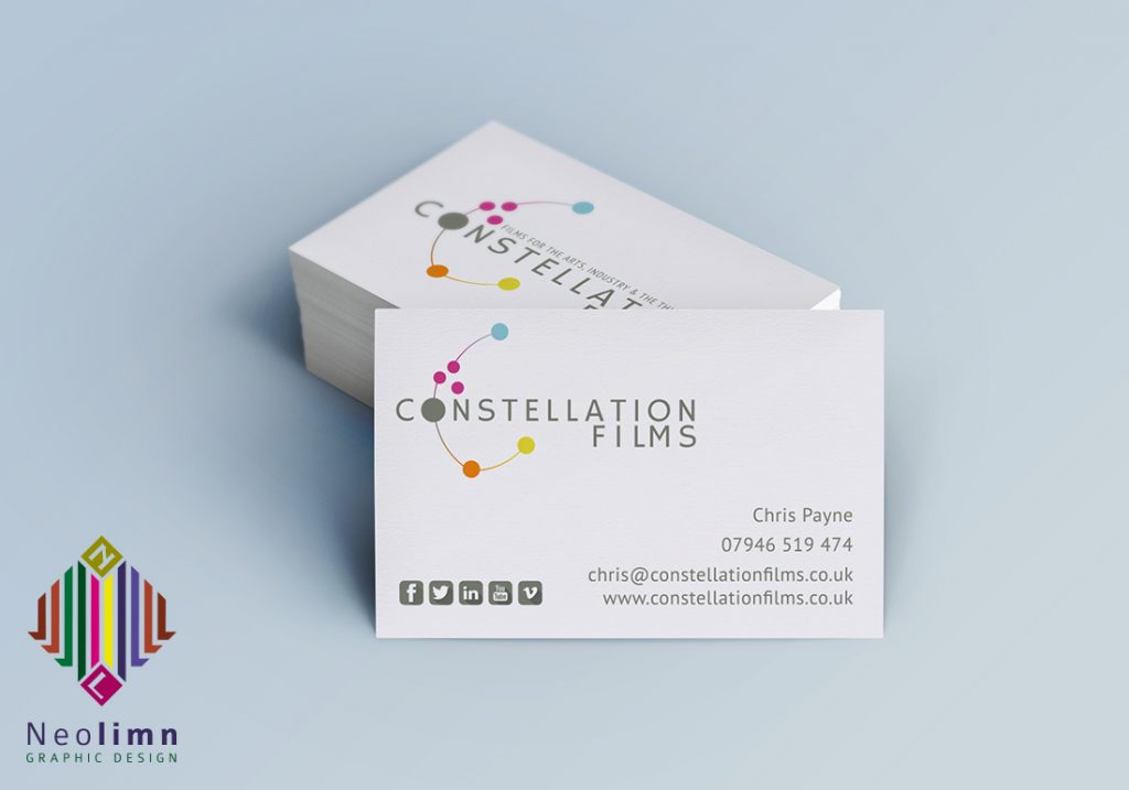 Logo Design Constallation Films